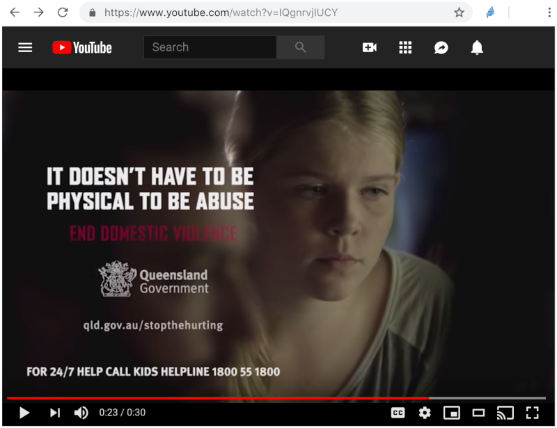 It doesn't have to be physical to be abuse