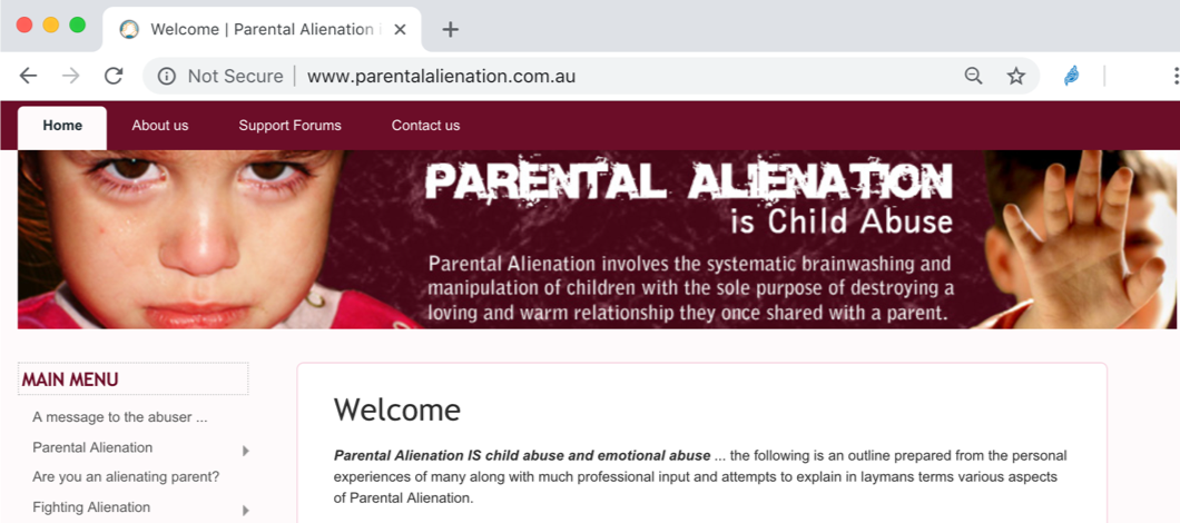Parental Alienation is Child Abuse